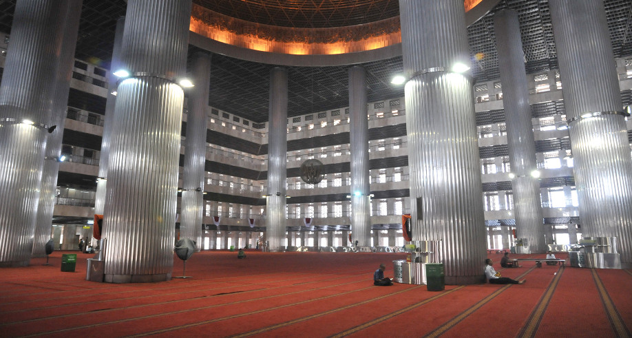 Masjid Istiqlal - detik.com
